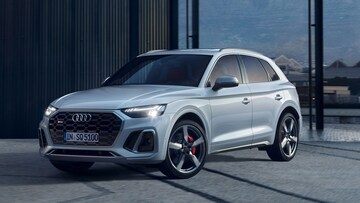 Front-side view of the Audi SQ5